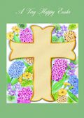 Easter Card-Easter Cross